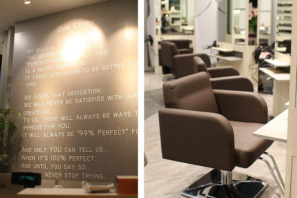 99 Percent Hair Studio Singapore