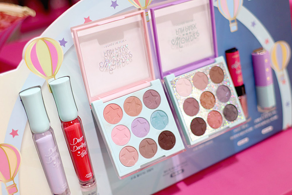 Etude House Wonder Fun Park Color Eyes #1 and #2