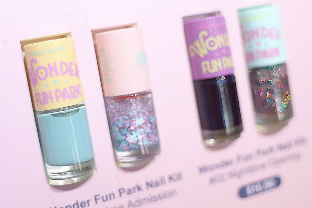 Etude House Wonder Fun Park Nail Kit $17.90 #1 and #2