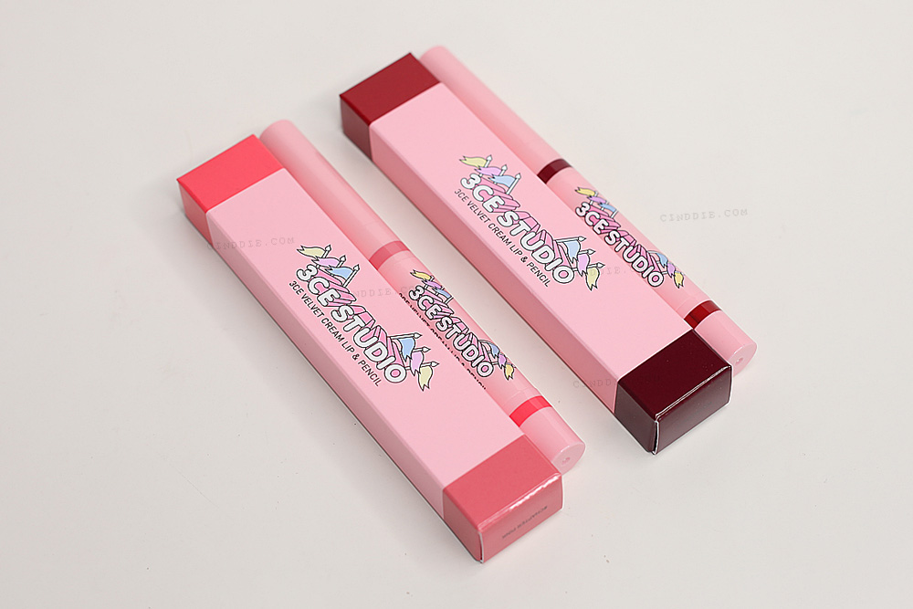 3CE Velvet Cream Lip & Pencil