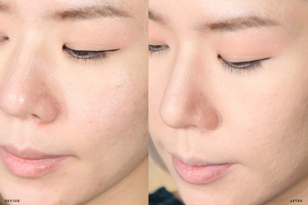Image of Sulhwasoo Perfecting Cushion Intense before and after