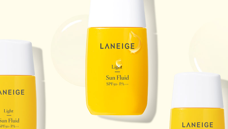 Image of Laneige Sun Care Line - Light Sun Fluid