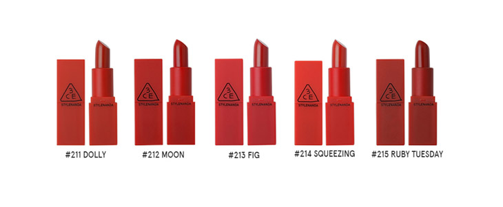 Image of 3ce Red Recipe lip color Mini kit