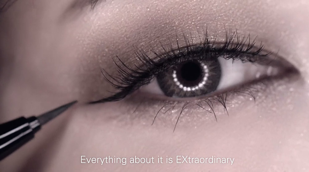 Image of Kate Tokyo Super Sharp Liner EX application