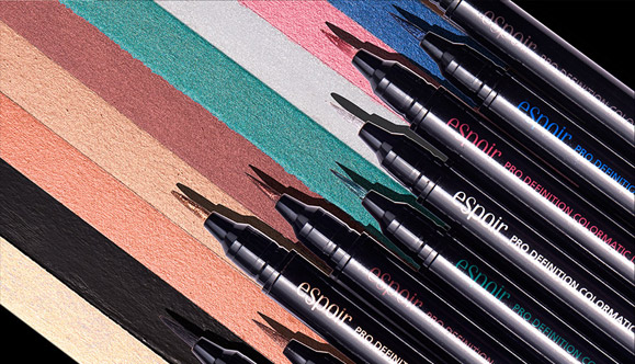 Image of Espoir Pro Definition Colormatic Eye Liners