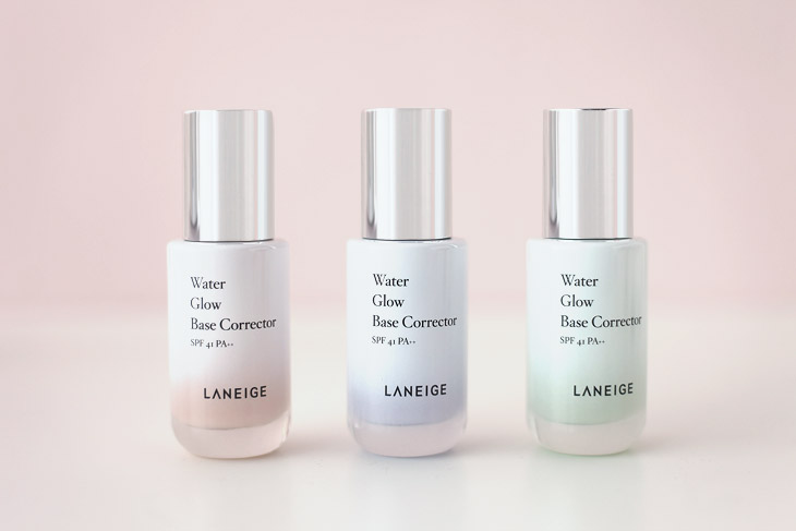 Image of Laneige Water Glow Base Corrector - All Colors