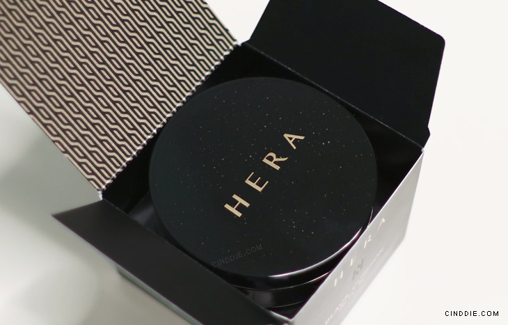 Image of Hera Black Cushion Review - Box opened