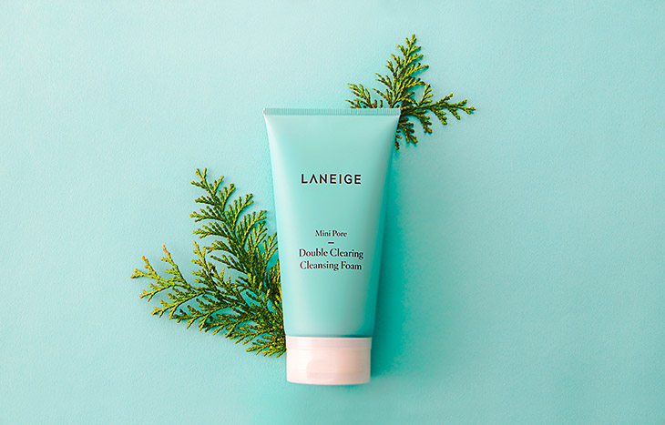 Image of LANEIGE Pore Mini line - Double Clearing Cleansing Foam