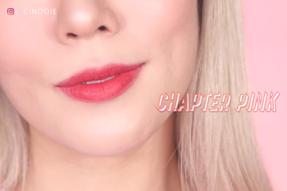 Chapter Pink - 3CE Velvet Cream Lip & Pencil