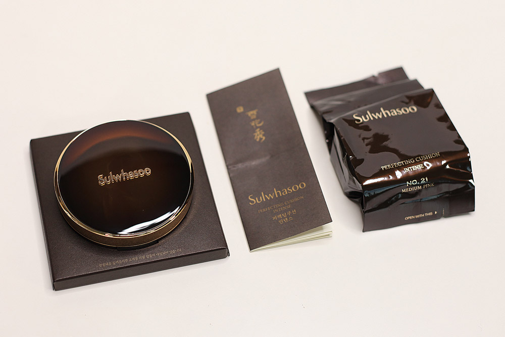 Image of Sulhwasoo Perfecting Cushion Intense unboxed
