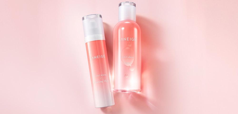 Image of Laneige Fresh Calming Skincare Line