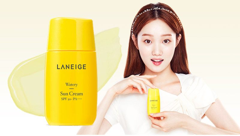 Image of Laneige Sun Care Line - watery sun cream
