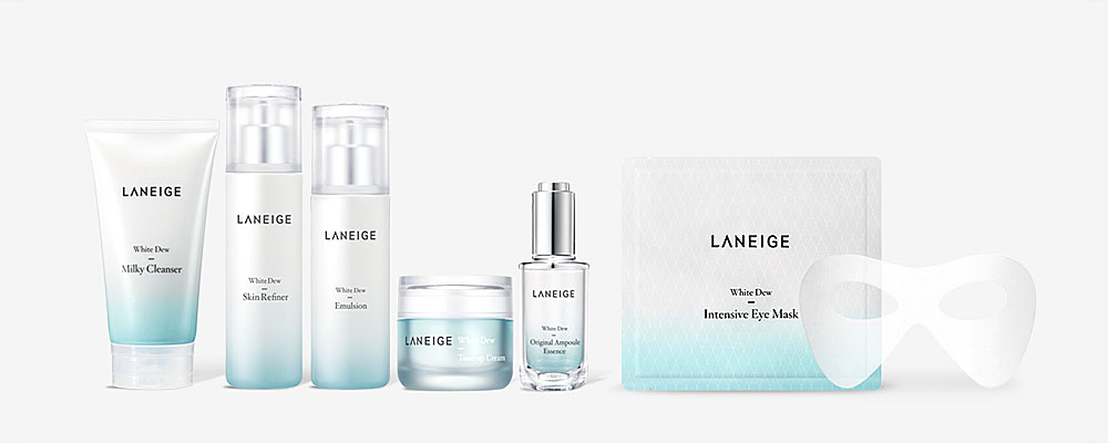 Laneige White Dew Collection